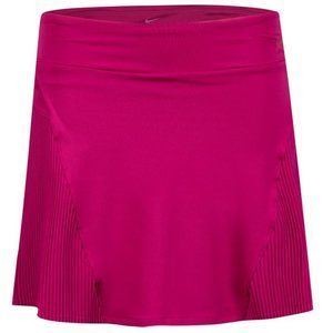 NIKE NWT XS Athletic Skort Back Pleat Berry Pink